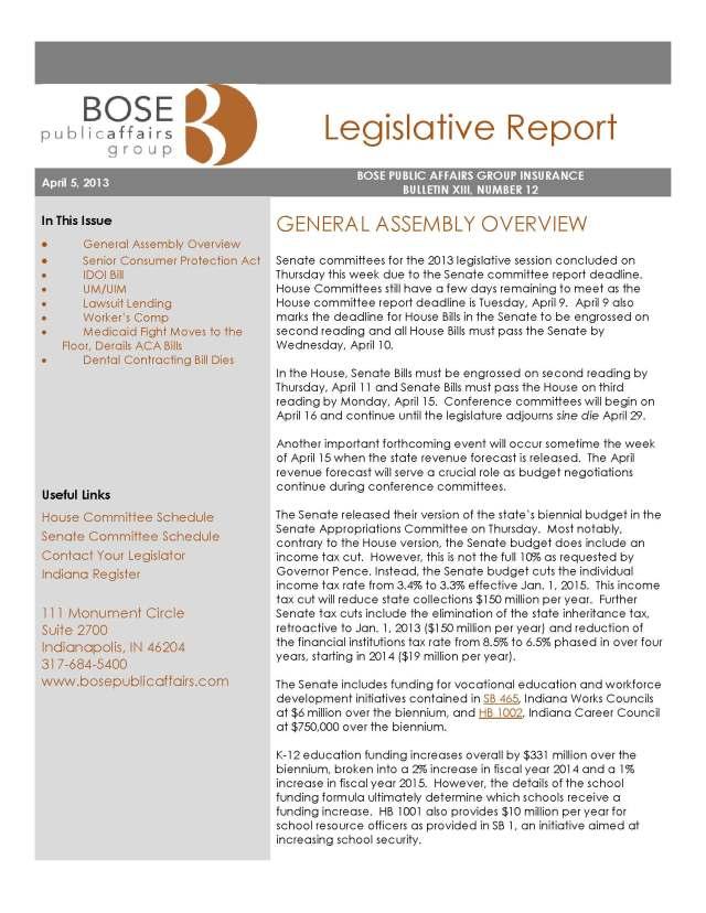 BPAG Insurance Legislative Report 4-5-13_Page_1